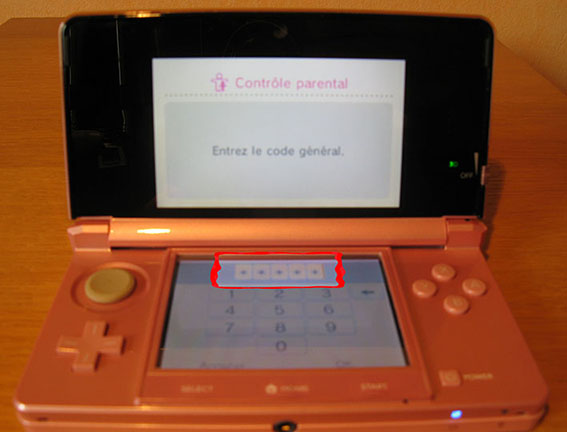 photo11 tuto code parental 3DS