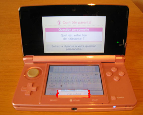 photo5 tuto code parental 3DS